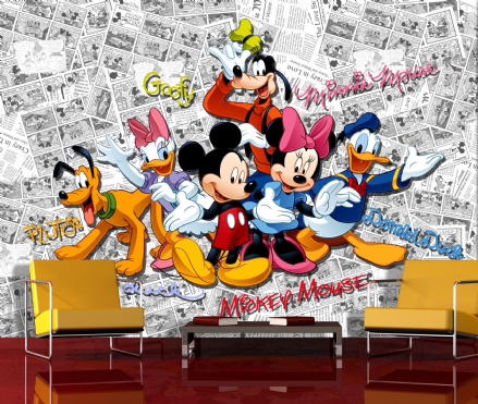 Disney Premium wall mural Mickey Mouse